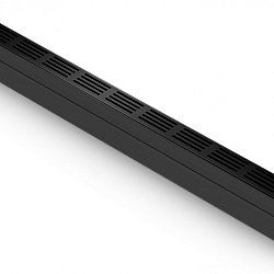 ACO SlimLine gootsysteem B=61mm L=1000mm, H=100mm incl. zzwart alu designrooster