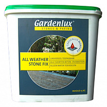 Steenlijm All Weather Stonefix emmer 15 kg